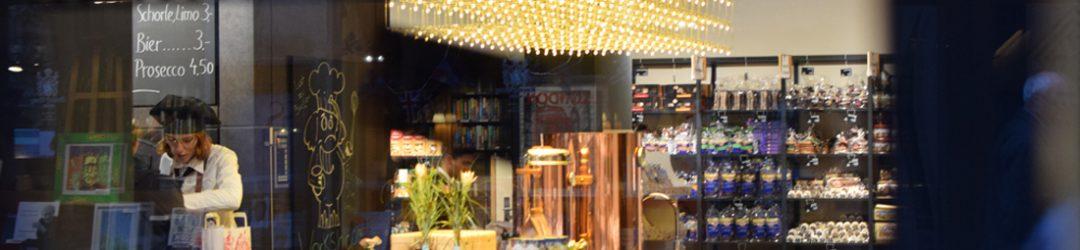 Wicklein Lebkuchen Flagshipstore in Nürnberg am Christkindlmarkt