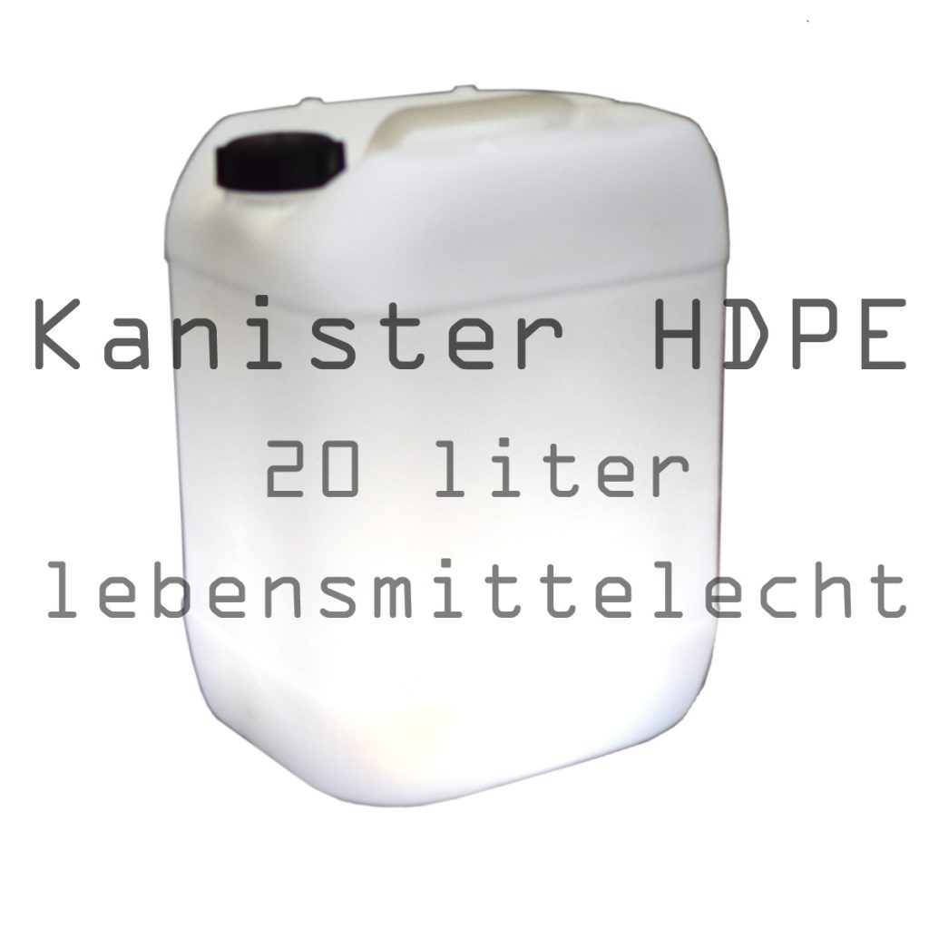 HDPE- Kanister für Frischwasser und Trinkwasser
