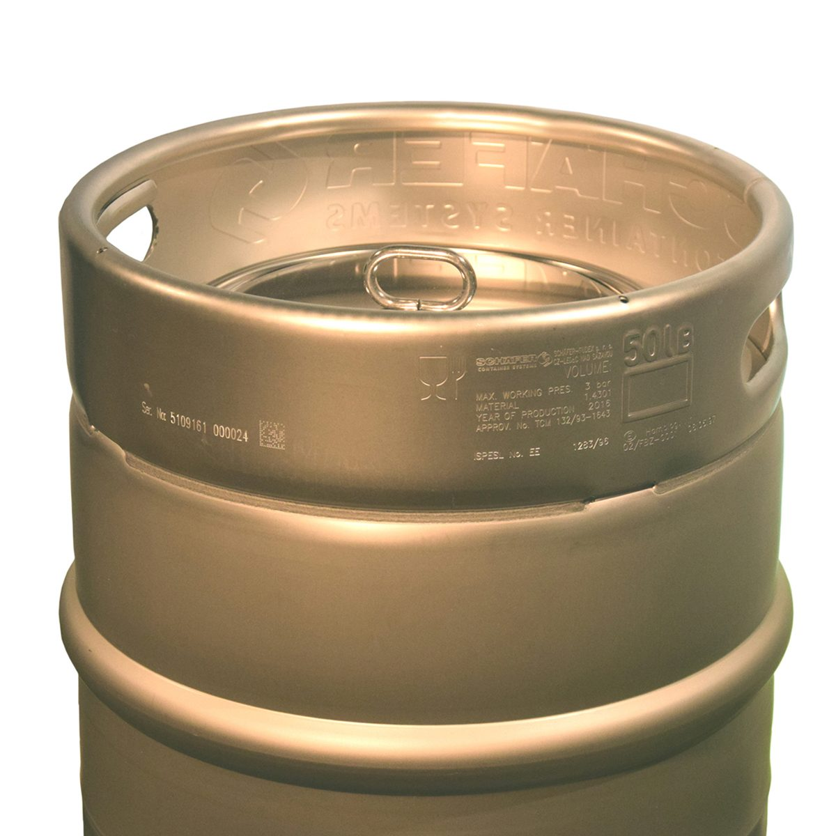 Bierfaß edelstahl