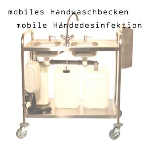 mobile Händedesinfektion