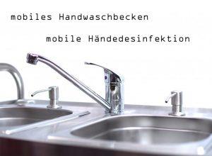 mobiles Handwaschbecken für Outdoor Cooking