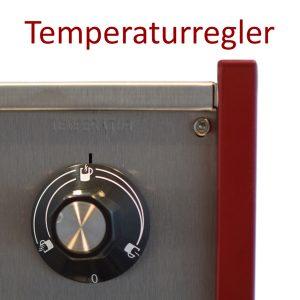 Der Temperaturregler eines Selbach Glühweinerhitzers