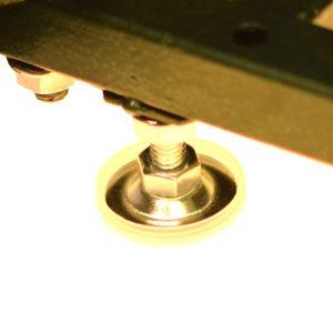 Gerätefüß für ein Gastronomiegerät