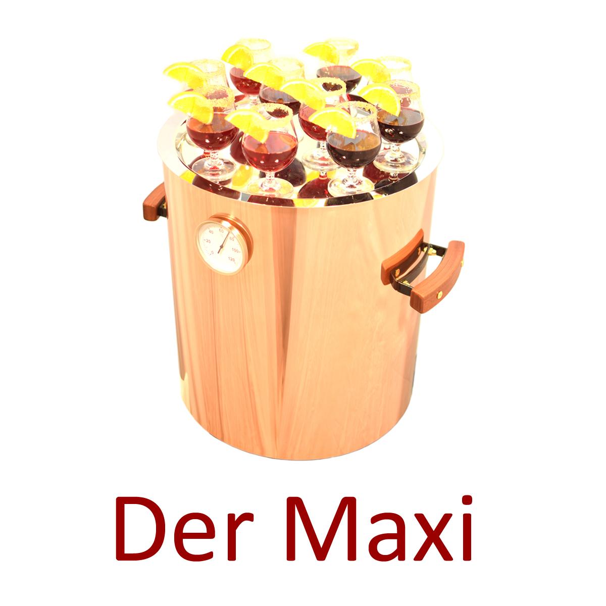 Maxi Glühweinerhitzer für die professionelle Gastronomie