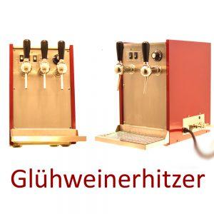 Glühweinerhitzer Selbach Vulcano für den Weihnachtsmarkt