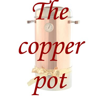 copper pot heater