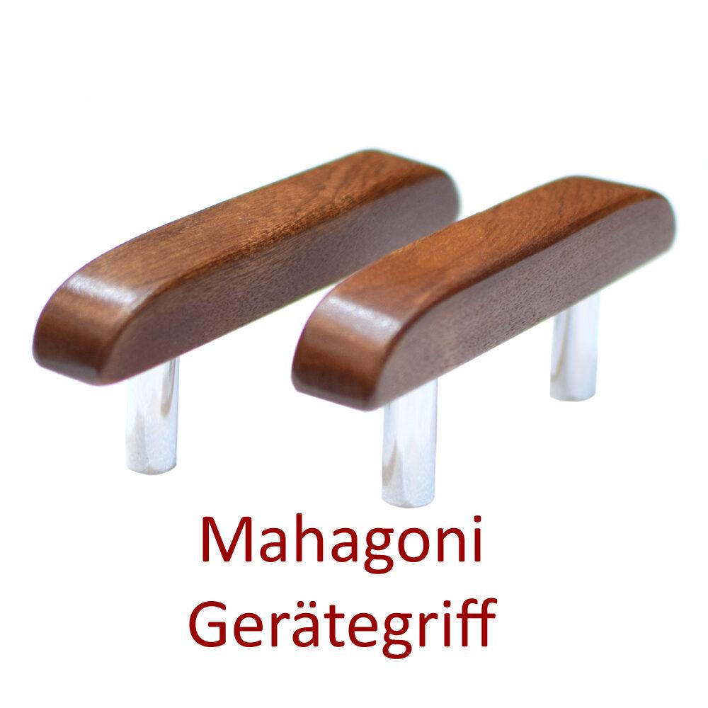 Griff aus Mahagoni